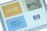 Ленточное устройство хранения данных HP DDS-4 Data Cartridge,40GB
